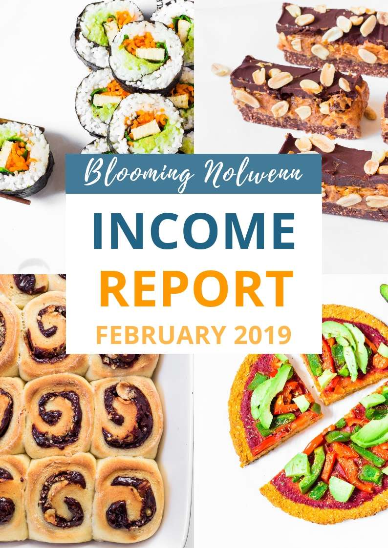 Blooming Nolwenn February 2019 Income Report