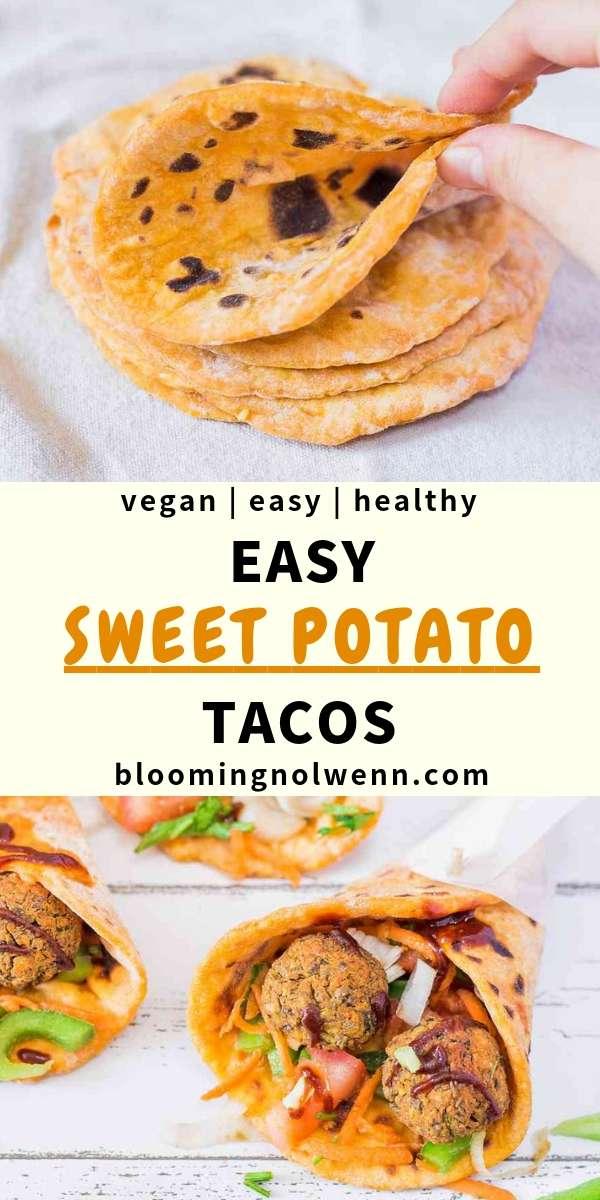vegan tacos falafels