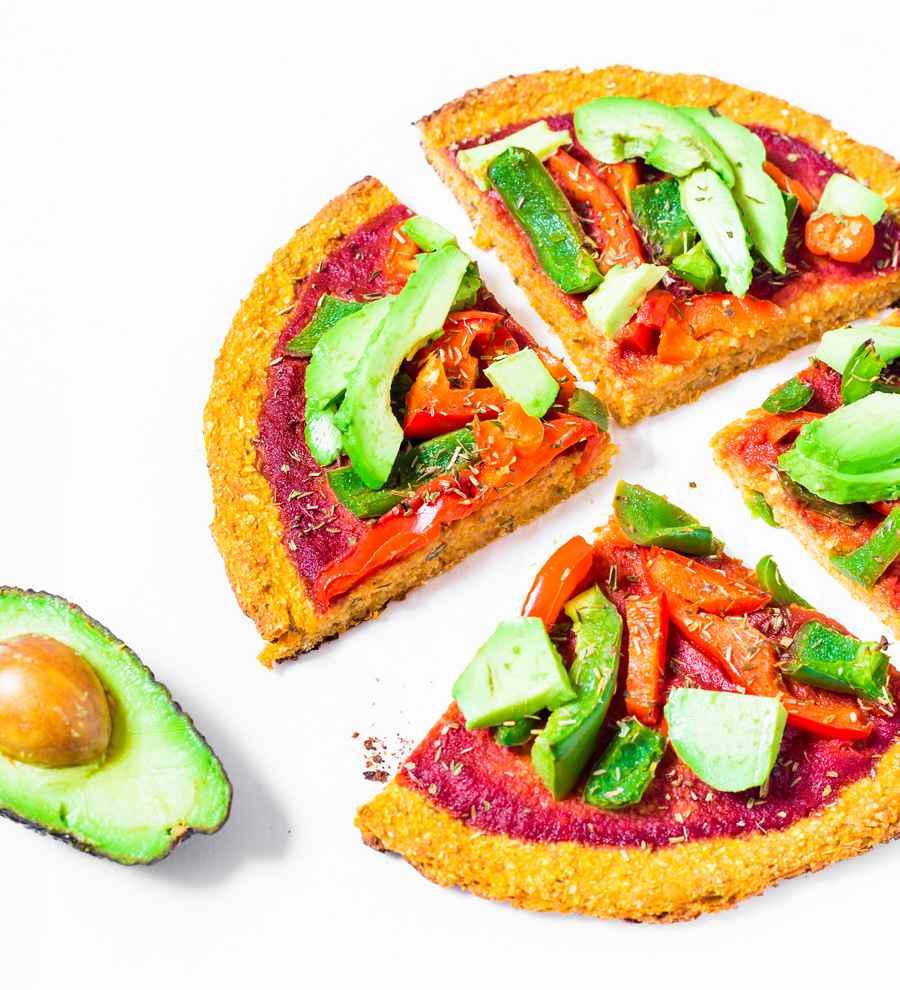 Pizza de Patate Douce Vegan