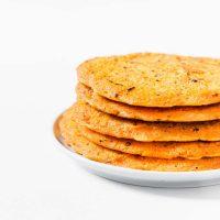 Galettes de Lentilles Corail | Vegan, 2 Ingrédients
