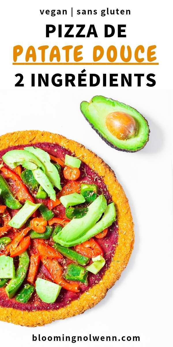 Pizza de Patate Douce Vegan, facile