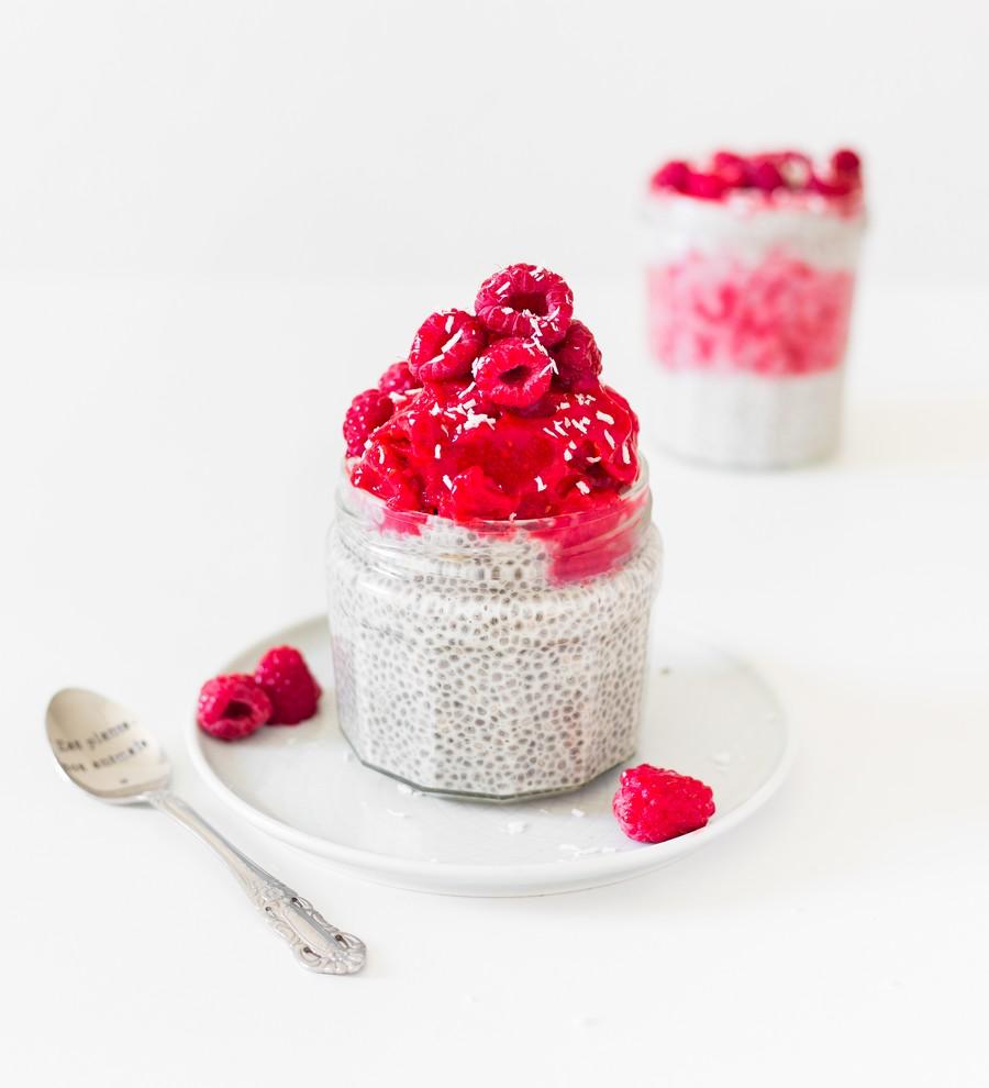 dessert graines de chia