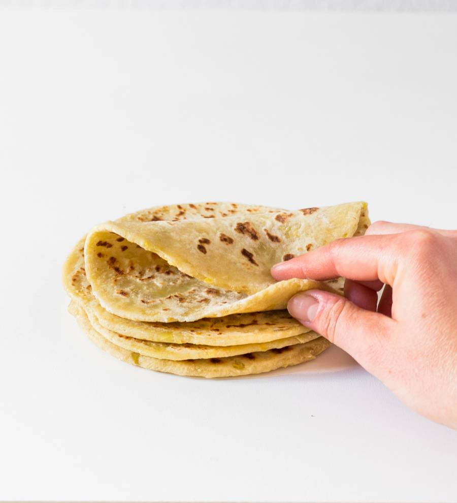 recette tortillas vegan