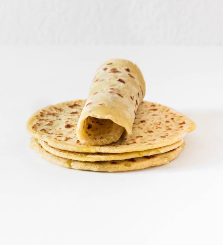 tortillas pour wraps