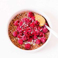 Porridge Banane Chocolat | Vegan
