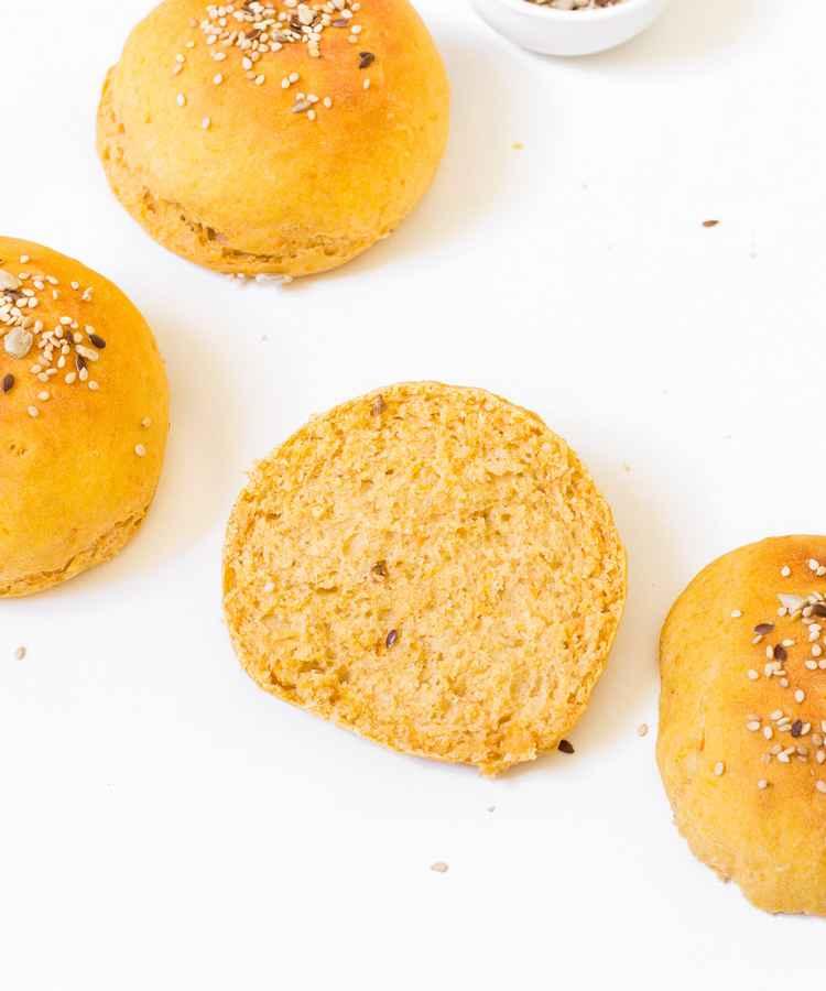 vegan hamburger buns