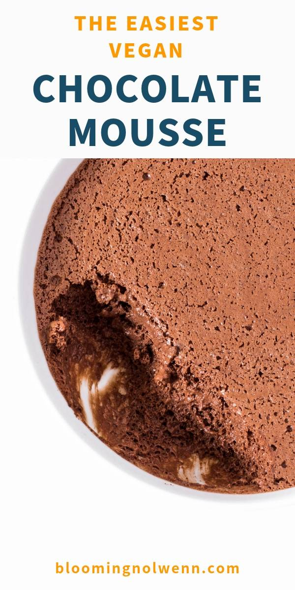 chickpea water chocolate mousse
