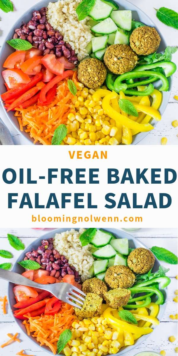healthy salad recipe vegan