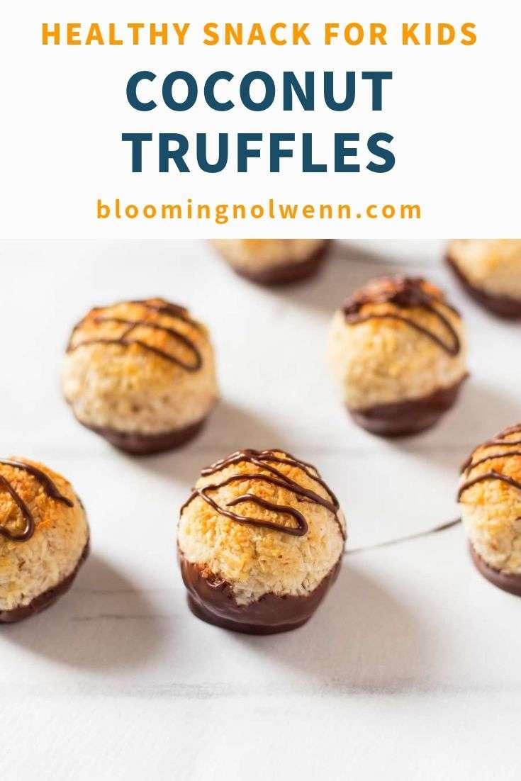 easy coconut chocolate bites