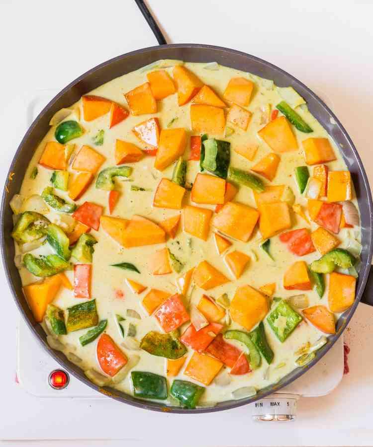 curry recipe coconut milk