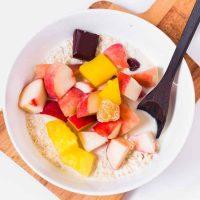 Easy Overnight Oats   Vegan Meal Prep