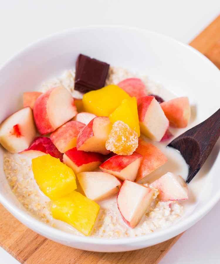 vegan breakfast oatmeal