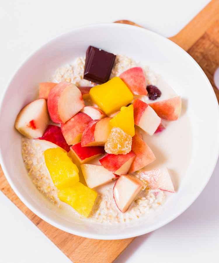 high protein vegan breakfast