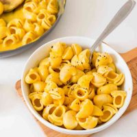 Mac and cheese au potiron (vegan et sans gluten)