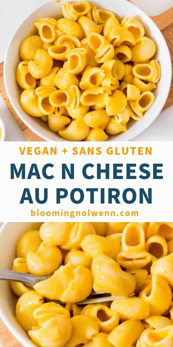 mac and cheese végétalien