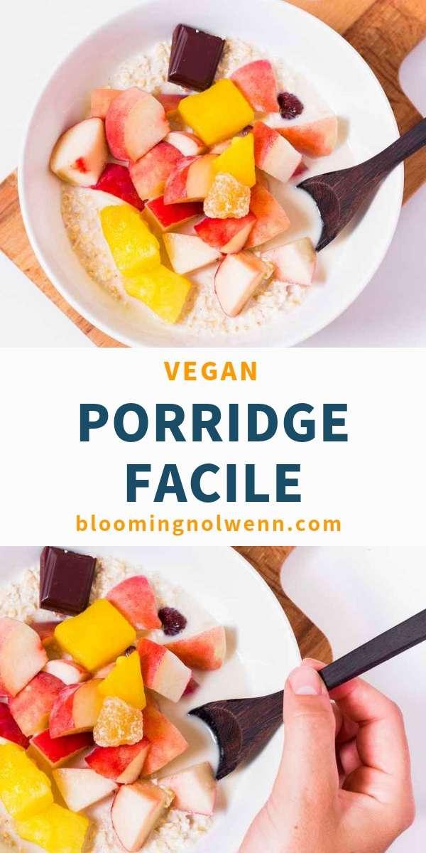recette petit déjeuner sain vegan
