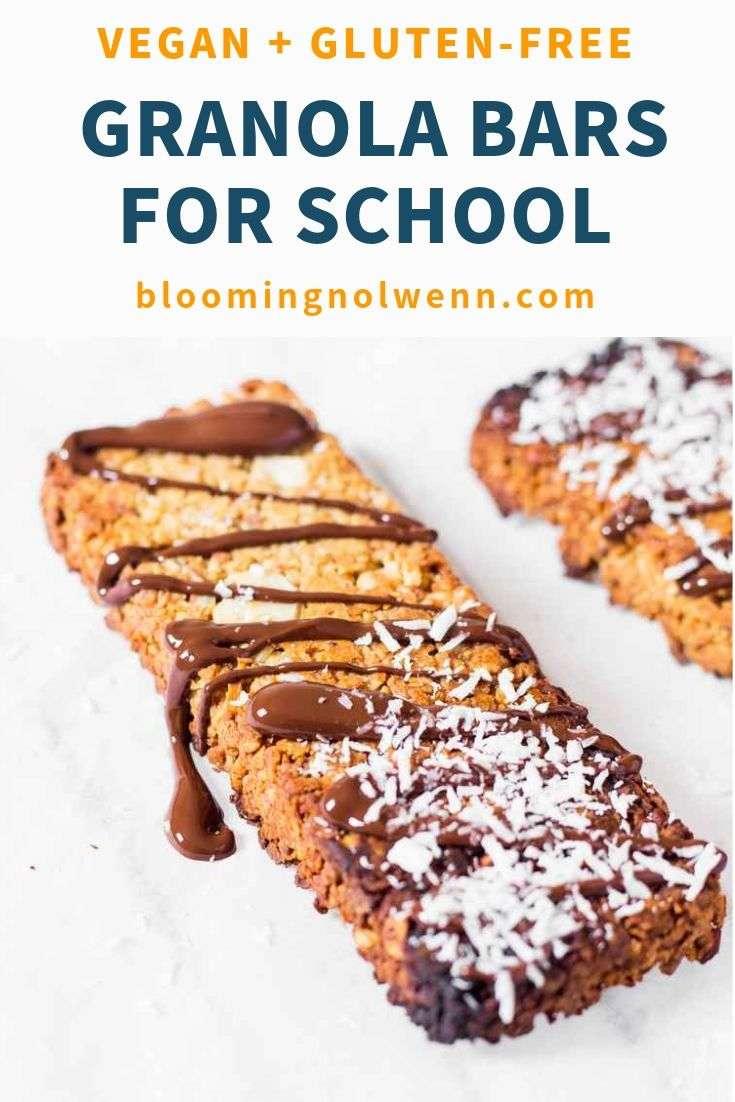 healthy snacks for kids granola