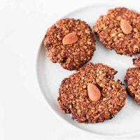 Cookies Flocons d'Avoine Chocolat   Vegan, Sans Gluten
