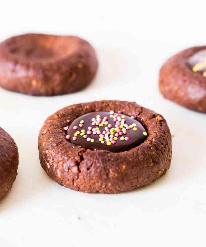 cookie thumbprint recette