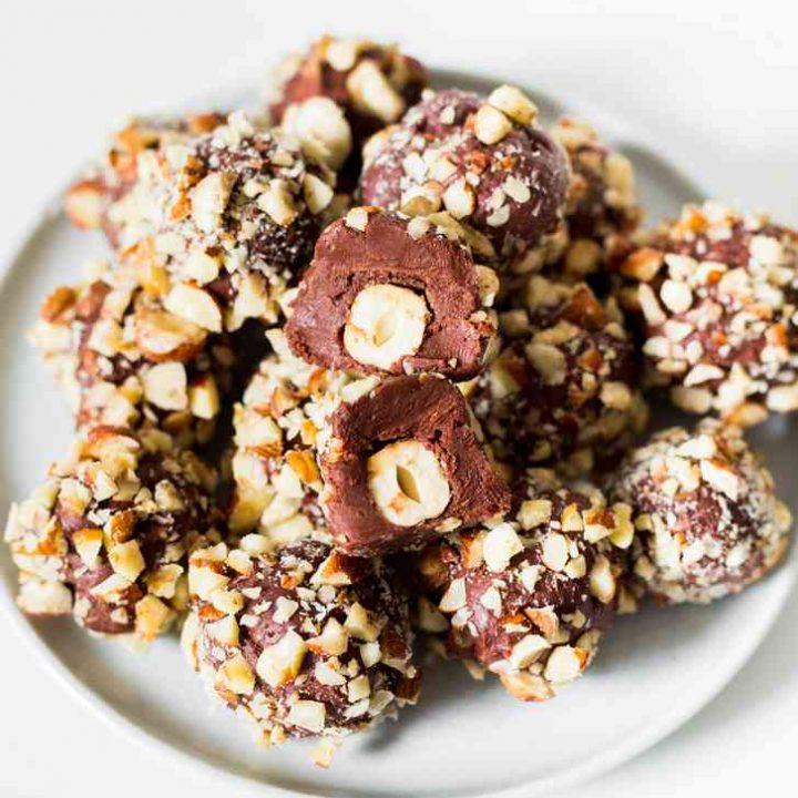 Ferrero Rocher vegan (10 ingrédients)